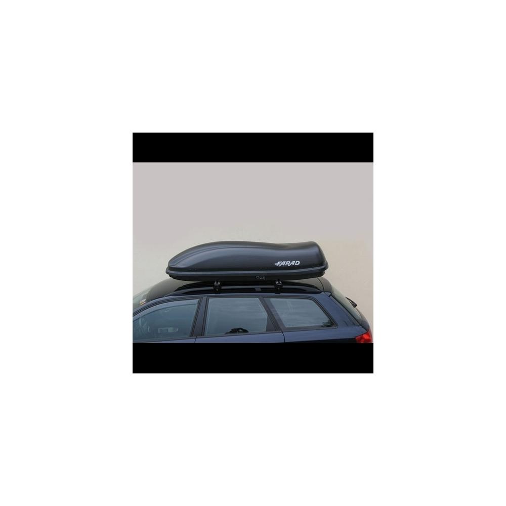 coffre de toit farad f3 marlin 480l gris. Black Bedroom Furniture Sets. Home Design Ideas