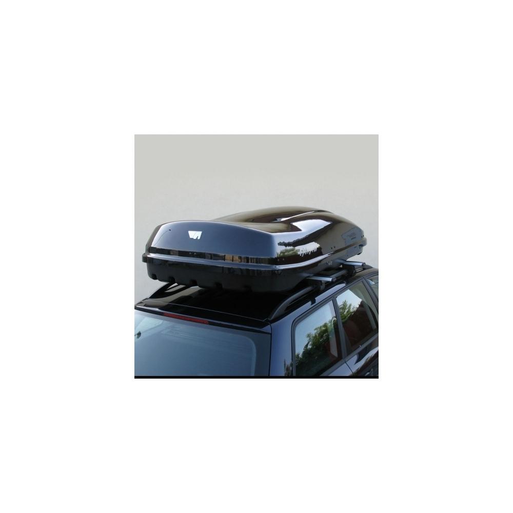 coffre de toit farad f3 marlin 680l noir m tallis. Black Bedroom Furniture Sets. Home Design Ideas