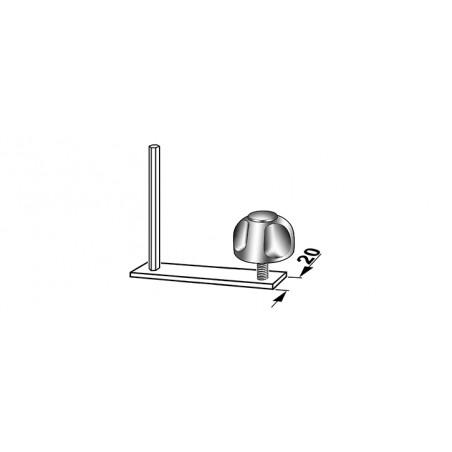 Kit de montage pour barres de toit profil type A (20mm)