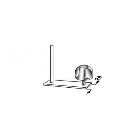 Kit de montage pour barres de toit profil type B (24mm)
