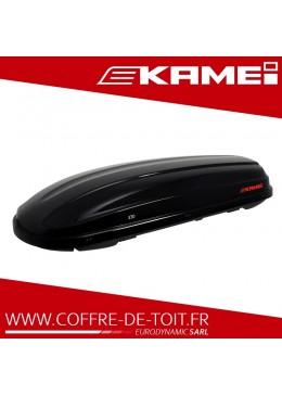 Coffre de toit Kamei 330 noir brillant