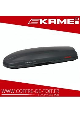Coffre de toit Kamei Corvara S 475 gris carbone