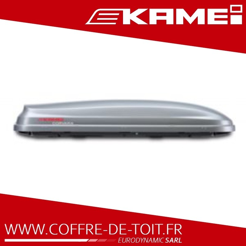 COFFRE DE TOIT KAMEI CORVARA 310L GRIS MAT