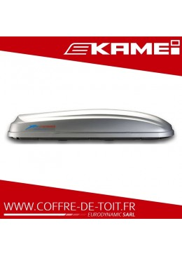 COFFRE DE TOIT KAMEI DELPHIN 470K GRIS MAT