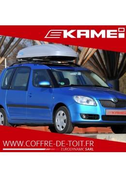 COFFRE DE TOIT KAMEI HUSKY L GRIS MAT