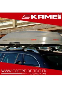 COFFRE DE TOIT KAMEI CORVARA 475L GRIS MAT