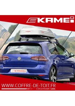 COFFRE DE TOIT KAMEI CORVARA 390L GRIS MÉTALLISÉ