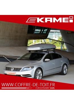 COFFRE DE TOIT KAMEI OYSTER 450L GRIS METALLISE