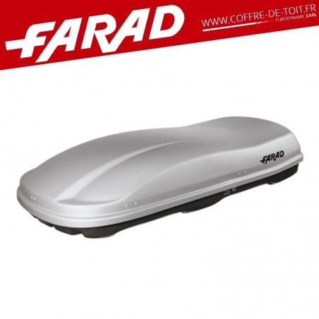 COFFRE DE TOIT FARAD F3 MARLIN 680L GRIS