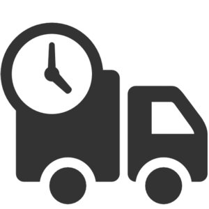 Suivant la nature du colis (poids, volume) l'envoi est réalisé en messagerie ou par transporteur. La remise de votre colis s'effectue en main propre contre signature du destinataire dans les 4 à 5 jours* après le traitement de votre commande.